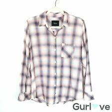 Rails Size M Women's Top Plaid Button Shirt Long Sleeve Casual