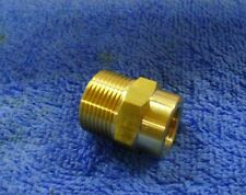 PRESSURE WASHER KARCHER SCREW HOSE CONNECTOR FITTING ADAPTER 22MM MALE x 1/4 FEM
