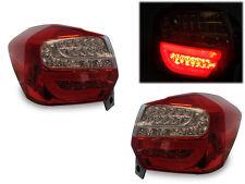 Depo Full LED Light Bar Red/Clear JDM Tail Light FOR 12-16 SUBARU XV CROSSTREK