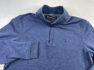 Under Armour Men's Sweater fleece Storm Loose ColdGear 1/4 Zip Sweatshirt Medium