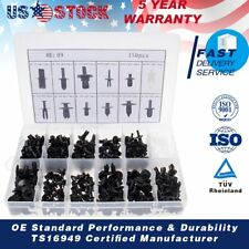 350X Car Auto Push Retainer Pin Rivet Trim Clip Panel Moulding Assortment Kit US