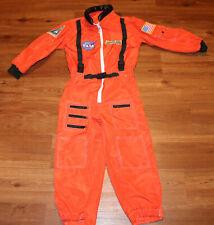 Aeromax Jr. Astronaut Jumpsuit size 8-10 flag patches