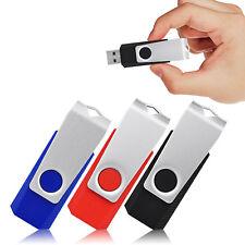 20Stück 16GB USB-Stick Memory Speicherstick Schwenkbarer USB-Flash-Laufwerk Dish