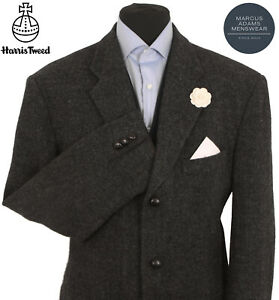 Harris Tweed Jacket Blazer 46R Country Weave Hacking Hunting Sports GREAT COLOUR