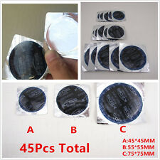 45XMultifunctional Cold Patch Radial Tire Repair Round Tubeless Patch Assortment