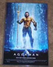 Aquaman 11X17 Movie Poster Jason Momoa