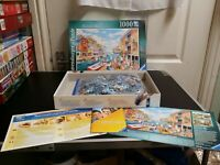 Ravensburger 1000 piece jigsaw puzzle - Summer Haven - Great Condition
