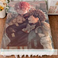 Bedding Double-bed Anime My Hero Academia Cover Bed Sheets Gift 150×200cm #T2