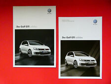 Prospekt / Katalog / Brochure mit Preisliste VW Golf GTI adidas  05/10