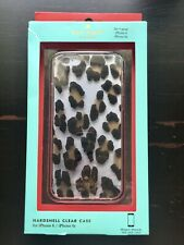 Kate Spade New York Leopard Clear Phone Case - iPhone 6/6s Resin Hardshell Hot!!