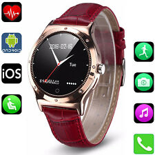 Women Bluetooth Smart Watch Compass For iPhone 11 X 8 7 Samsung S10 S9 LG K10 K8