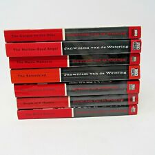 Lot of 7 Janwillem van de Wetering Crime novels Grijpstra & De Gier Mystery