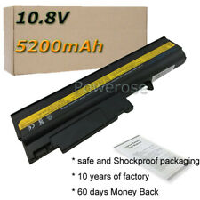 6 Cell Laptop Battery for IBM ThinkPad T42 T43 R50 R52 T43P T42p 08K8190 92P1087