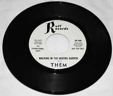 "60'S GARAGE / THEM / ""WALKING IN THE QUEENS GARDEN"" / PROMO ON RUFF RECORDS/VG+"