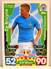 Match Attax 2017/18 Premier League - #MT023 Kevin De Bruyne - Midfield Masters
