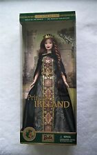 Barbie Doll - 2001 PRINCESS OF IRELAND (Dolls of the World Collection) PRISTINE!