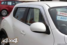 For Nissan Juke Chrome Wind Deflectors Set (4 pieces)