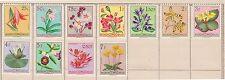 (Q15-6) 1960 Belgium Congo mix of 11 25c to 7F flowers MH