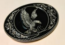 Classic American EAGLE ` Full Metal BELT BUCKLE COUNTRY Western ** USA seller