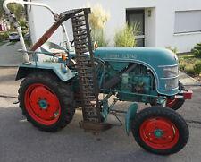 Kramer Traktor Kleinschlepper KLS 140 mit Mähwerk