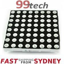 LED Dot Matrix, RED, 8x8, 5mm LEDs, 60x60mm, Arduino/PIC/Raspberry, Ship SYDNEY