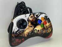 Street Fighter IV Xbox 360 Wired Zangief Controller Fight Pad Mad Catz 4728 Rare