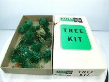 Vintage N Scale TREE KIT - ATLAS Plastic TREES Model Train N GAUGE #2811-100