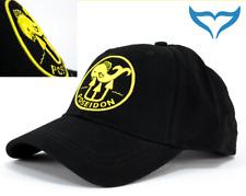 """Poseidon Base Cap """"All Good"""" gelb gesticktes Logo Schirmmütze schwarze Nähte NEU"""