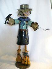 We- Metal Tin Halloween Scarecrow (Spring Bobble Head) #40189 1/2