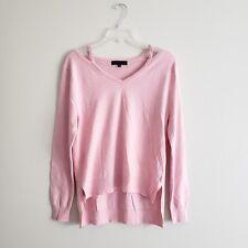 Sanctuary Womens T-shirt Cutout Neck Sweater Top Celestial Pink Size S NWOT