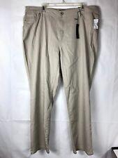 d98e4e5bef656 Roz   Ali Dressbarn NWT Women s Khaki Skinny Jean Pants Plus Size 20W ...