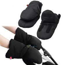 Winter Waterproof Pram Gloves Trendy Stroller Pushchair Thick Hand Muff Mittens
