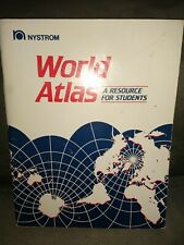 World Atlas: A Resource for Students - Paperback By Nystrom (Firm) - GOOD-WORLD
