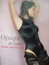 $279 ✨ WOLFORD ~DIANE~ BODY ✨ Opaque de Luxe ✨ Satin ✨ BLACK ✨ Medium M NIB New!
