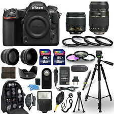 Nikon D500 Digital Camera + 18-55mm VR + 70-300mm + 30 Piece Accessory Bundle