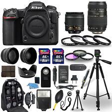 Nikon D500 Digital Camera + 18-55mm VR + 70-300mm + 30 Piece Accessory Bundle