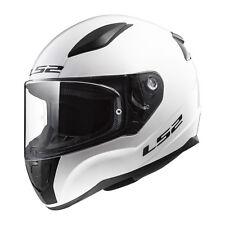 LS2 Helmet Bike Full-face Ff353 Rapid Mono Gloss White S