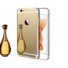 iPhone 7/8 Plus coque/étuis silicone Or/Gold de qualité supérieure effet miroir