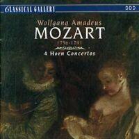4 HORN CONCERTOS    CD NEW MOZART,WOLFGANG AMADEUS