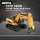 HuiNa Toys 1570 16 Channel 1/14RC 2.4GH Metal Timber Grab Log RC Charging