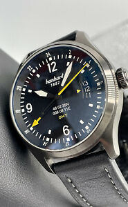 Hanhart S Series SK 60 GMT Swedish Air Force Limited Edition SAAB 105 40mm Swiss