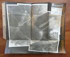 Landkarte Wehrmacht Luftbild, Echtfoto Goworowo Zaorze, Stabsbildabteilung  WK2