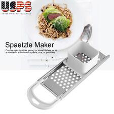 New Stainless Steel Spaetzle Maker Egg Dumpling Noodle Maker Safe Kitchen Tools