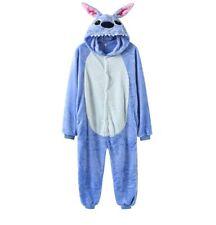 Kids Adults Cute Stitch Onesie0 Animal Pyjamas Party Kigurumi Cosplay Fleece