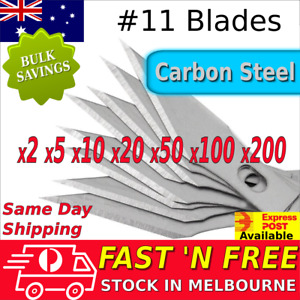 Exacto X-Acto #11 Knife Replacement Blades Carbon Steel Hobby Arts Craft Tool AU