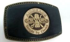 VW Air Cooled Collectors AIRHEADS belt buckle No Hasp on Back For Display