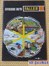 Faller  -- Modellbau Jahres Katalog 1969/70  - Sprache Niederländisch !