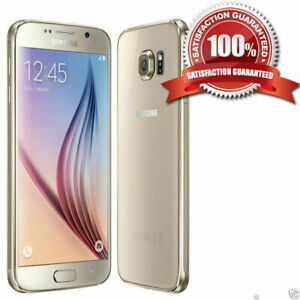 Samsung Galaxy S6 SM-G920F 32GB Unlocked Smartphone All Colours EXCELLENT UK
