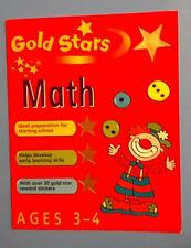 Gold Stars Math Book [Ages 3-4]