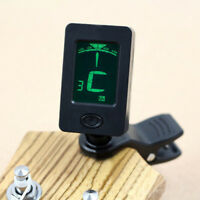 CHROMATIC CLIP-ON DIGITAL TUNER FOR ACOUSTIC ELECTRIC GUITAR BASS VIOLIN SMART